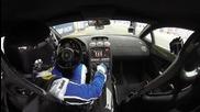 Lamborghini развива 402 км/ч след което се възпламенява ( Поглед отвътре )