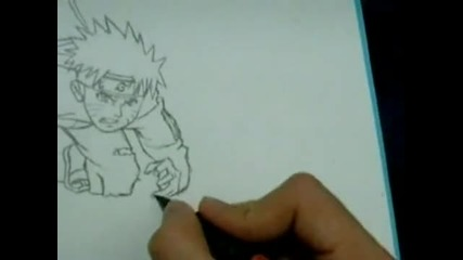 Drawing Naruto Uzumaki Shippuuden By jardc87