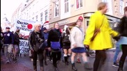 Netherlands: Men in mini-skirts march in solidarity with victims of Cologne attacks