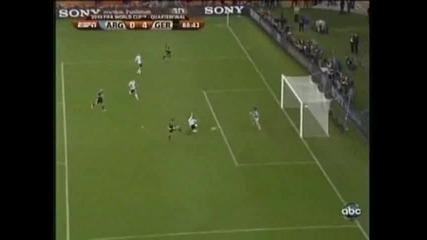 World Cup 2010 Аржентина - Германия 0:4