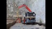Yo camion Rc Friderici avec grue hydraulique