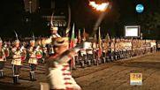 С тържествена заря приключиха честванията на годишнината от боевете на Шипка