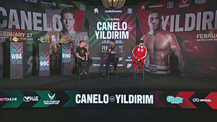 USA: 'It's my time' - Yildirim confident ahead of super-middleweight title fight against Alvarez in Miami