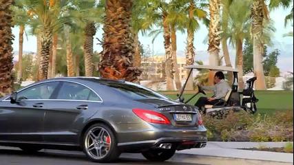 Представяне на Mercedes- Benz Cls 63 Amg