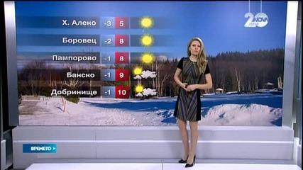 Прогноза за времето (13.12.2014 - централна)