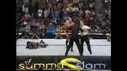 Summerslam 2001 - The Rock vs Booker T ( Wcw Championship)