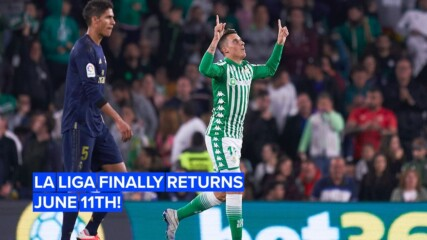 Липсва ти испанския футбол? Ла Лига се завръща на 11-и юни!