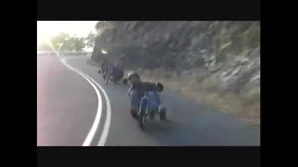 Drift с детски триколки