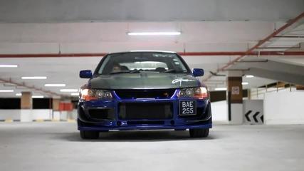 Зверско Mitsubishi Evo 9 - 420hp !!!