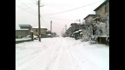 Сняг В Костенец!!!