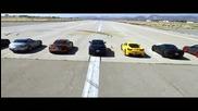 Състезание на 11те най-бързи коли в света...адреналин!!!