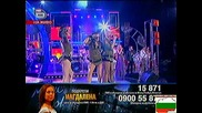 Магдалена - боса по асфалта - финала на Music idol 3