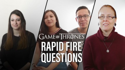 Game of Thrones experts play Rapid Fire Questioning