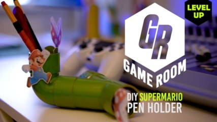 Game Room: How to Make Super Mario Pen Holders