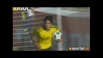"""10.7.2011 Колумбия-боливия 2-0 Копа Америка група """"а"""""""