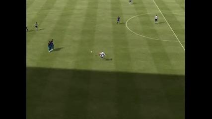 Wayne Rooney Free kick Goal Fifa 12