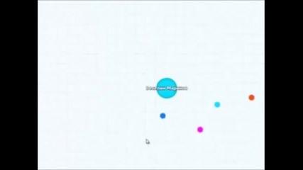 Кратко видео на играта agar.io :)
