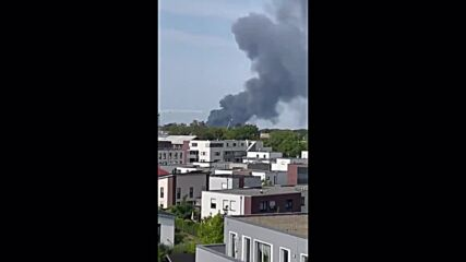Germany: Smoke billows after explosion at Leverkusen chemical complex