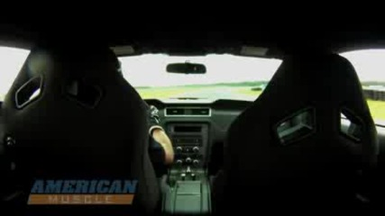 2012 Boss 302 vs. 2010 Camaro Ss on Road Course