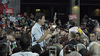 Canada: Trudeau holds final rally ahead of federal election