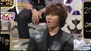 Taeyang Vs Eunhyuk Dance Battle - Strong Heart 05.01.2010