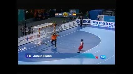 Испания надигра Египет с 29:24 на световното по хандбал