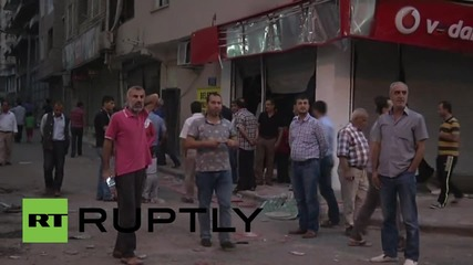 Turkey: Clashes break out in Silvan after curfew is lifted