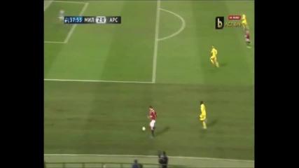 Милан 4-0 Арсенал 15.02.2012
