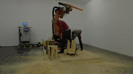 робот с резачка