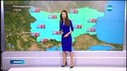 Прогноза за времето (16.03.2015 - обедна)