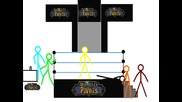 Stickman Fight! Hicks Crack, Yenor, Hernanez vs Socky, Wowley, Kamikadze