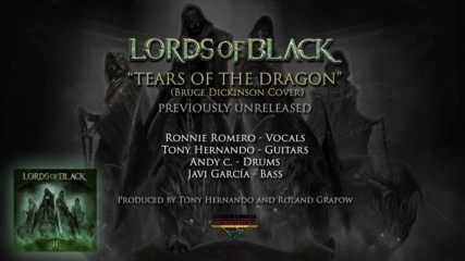 Lords Of Black - Tears Of The Dragon ( Official Audio)