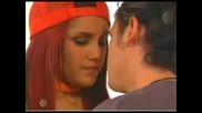 Diego y Roberta-besos