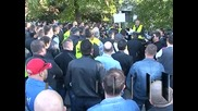 Полицаите протестираха с искания за по-високи заплати