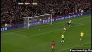 Манчестер Юнайтед 5 - 0 Стok Сити /най - интересните моменти/