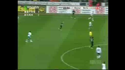 Диего вкарва супер гол на Херта