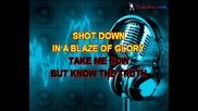 Bon Jovi - Blaze Of Glory (karaoke)