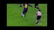 Топ 10 Най-красиви голове на Лионел Меси от сезон 2012 - 2013