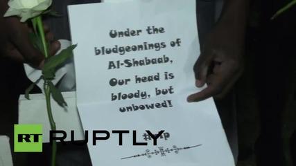 Kenya: Candlelight vigil held for students massacred in Garissa