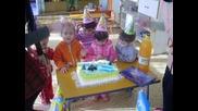 Рожденния ден на Илиян от група Слънчице