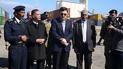 Libya: GNA's Sarraj visits Port of Tripoli hit in missile attack by Haftar forces