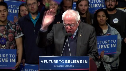 USA: Sanders rallies supporters ahead of Arizona primary