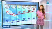 Прогноза за времето (25.06.2018 - централна емисия)