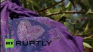 Greece: Refugees gather in Athens park, authorities provide free food