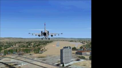 кацане в бургас с F16 viper