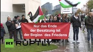 Germany: Palestinians and supporters gather in Berlin to denounce Israeli attacks