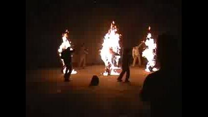 Full Body Burns - Alpha Stunt Team Bg