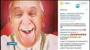 Селфи на папа Франциск събра 10 000 харесвания само за 5 часа