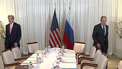 Switzerland: Lavrov and Kerry hold Syria talks in Geneva
