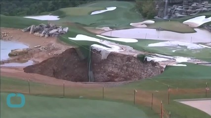 Sinkholes Add New Traps and Hazards To Missouri Golf Course